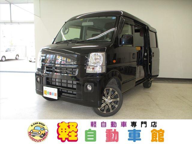 スズキ バン ジョインターボ 軽キャンバー キャンピングカー 4WD