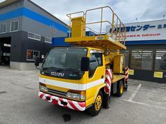 エルフトラック10mスーパーデッキ高所作業車