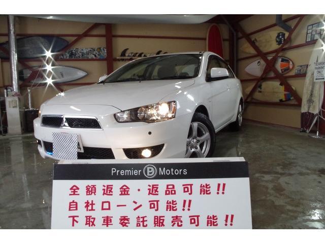 三菱 ギャランフォルティス エクシード 4WD オートライト ETC フルセグTV ナビ バックカメラ DVD再生OK Bluetooth