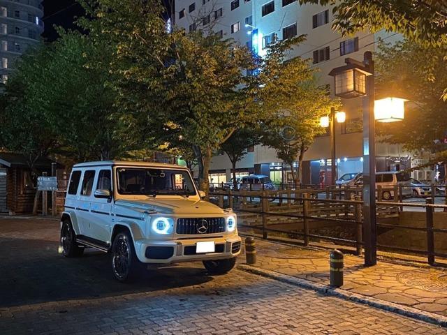 メルセデスAMG G63 4WD シートヒーター 本革シート サンルーフ