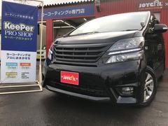 ヴェルファイア3.5Z プラチナムセレクション 4WD ナビ TV