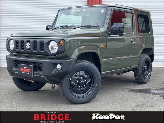スズキ XL 4WD 届出済未使用車 シートヒーター 大人気ジャングルグリーン スマートキー プッシュスタート