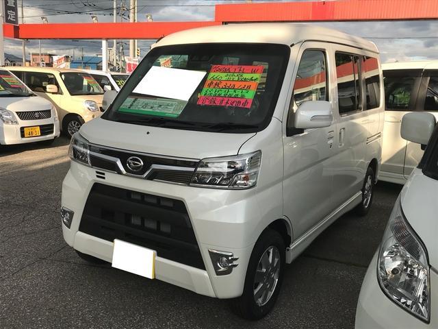 ダイハツ カスタムターボRSリミテッド SAIII 4WD 軽自動車