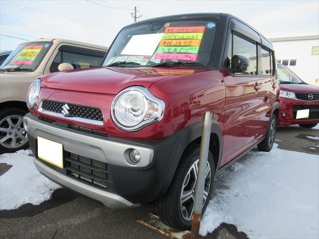 「スズキ」「ハスラー」「コンパクトカー」「北海道」の中古車