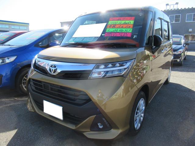 トヨタ タンク G 4WD ABS WSRS スマートキー プッシュスタート クルーズコントロール 両側パワースライドドア アイドリングストップ LEDヘッドライト 寒冷地仕様 ワンオーナー