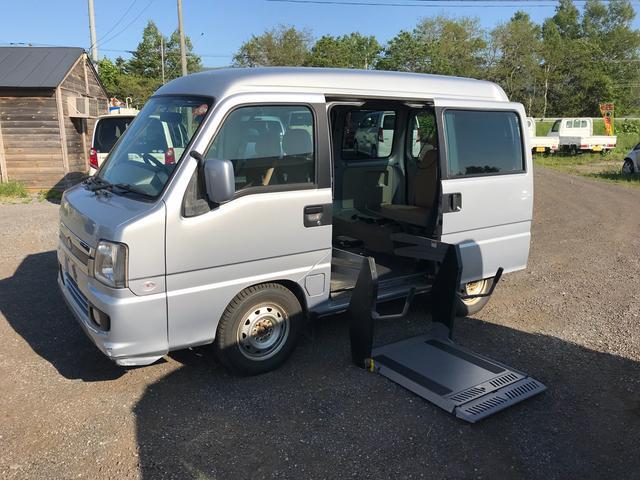 スバル トランスケアデンドウリフター 4WD Wエアバッグ CD