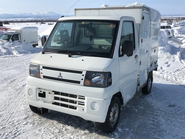 三菱 ミニキャブトラック Vタイプ 4WD トイレカー オートマ パワステ エアコン 走行2万キロ