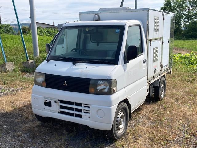 三菱 ミニキャブトラック Vタイプ トイレカー 4WD 5速マニュアル バイオトイレ パワーステアリング