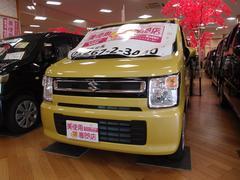 ワゴンRハイブリッドFX 4WD 純正オーディオ 屋内展示