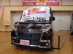 タントカスタムRS トップエディションSAIII 4WD 純正ナビ