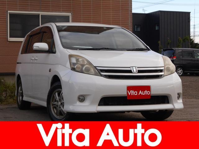 トヨタ プラタナ 4WD メモリーナビ フルセグ HIDヘッドライト パワースライドドア リモコンエンジンスターター  Bluetooth USB ETC 社外アルミノーマルタイヤセット積込