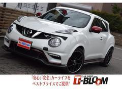 ジュークニスモ RS 4WD レカロシート スマホ連動モニター