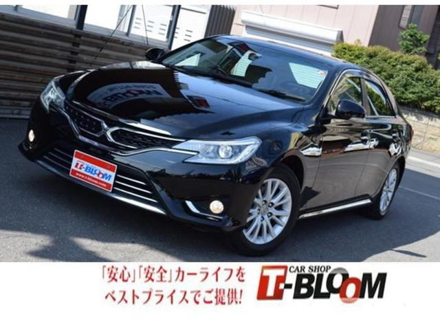 トヨタ マークX プレミアム Four  4WD パワーシート ナビ TV