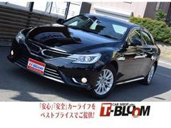 マークXプレミアム Four  4WD パワーシート ナビ TV