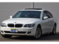 BMW740i レザー サンルーフ左ハンドル