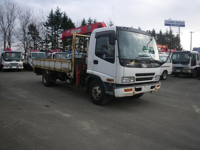 いすゞ 7.2Dフルカワ5段4tクレーン L5.1W2.18H0.4