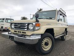 ランドクルーザー70LX パートタイム4WD フルセグTV ナビ オールペン