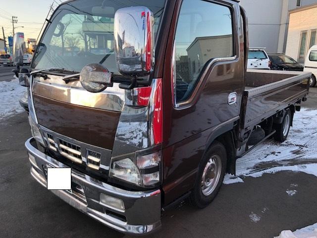 いすゞ 3.1D 1.45t 平ボディ メッキ ディーゼル 5MT
