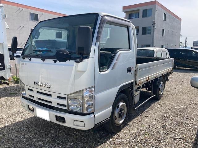 いすゞ  トラック 5MT ホワイト 4WD