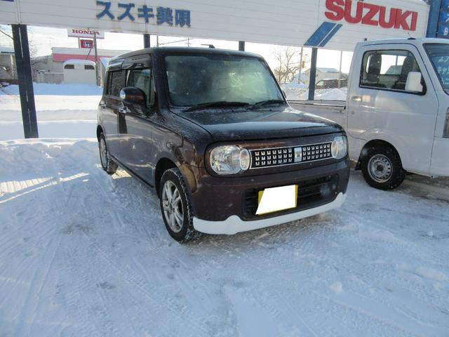 「スズキ」「アルトラパン」「軽自動車」「北海道」の中古車