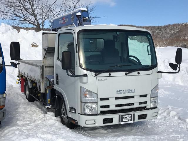 いすゞ 平ボディ ラジコンクレーン 4段ブーム PS PW ETC