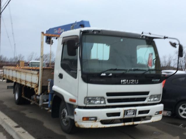 いすゞ  4段クレーン(タダノ製) 積載2600kg フックイン