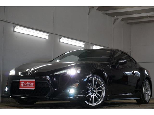 トヨタ GT・本州仕入・TRDエアロ&4本出しマフラー・RAYS18