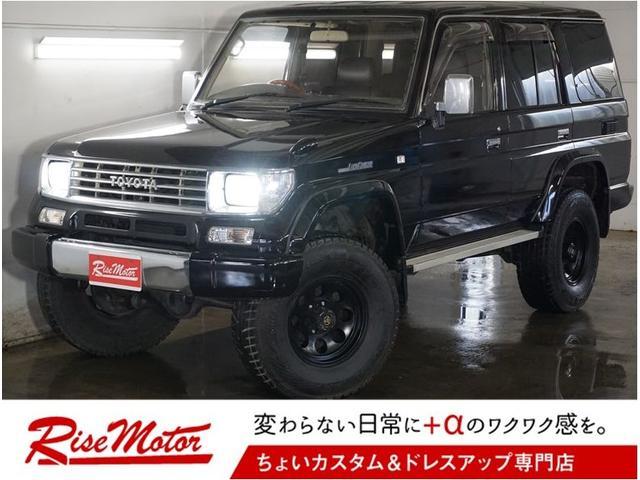 トヨタ SXワイド4WD・本州仕入・純正黒・リフトUP・ディーゼルT
