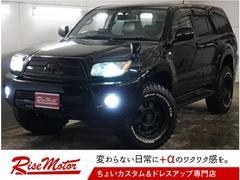 ハイラックスサーフSSR−X4WD・本州仕入・純正202黒・後期・社外マフラー