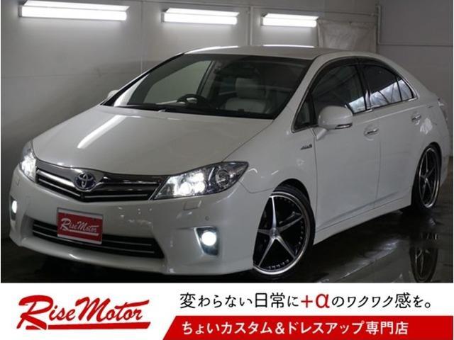 トヨタ G・本州仕入・4灯LED・車高調・外19AW・トムススロコン