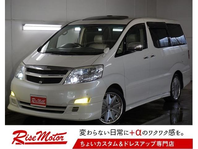 トヨタ MZ G・4WD・本州仕入・Wルーフ・革シート・フリップM