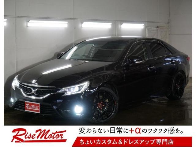 トヨタ 250G 4WD・本州仕入・寒冷地仕様・レイズホムラ19AW
