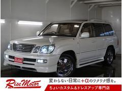 ランドクルーザー100シグナス 4WD・本州仕入・1ナンバー変済・5速・ガナドール