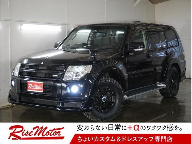 三菱 ロング エクシード 4WD・サンルーフ・新品グッドリッチMT