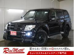 パジェロロング エクシード 4WD・サンルーフ・新品グッドリッチMT