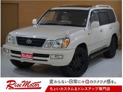 ランドクルーザー100シグナス4WD・本州仕入・1ナンバー・5AT・ガナドール