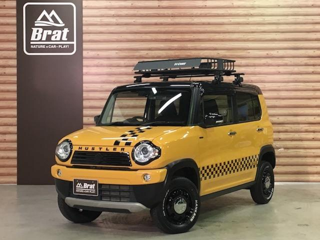 スズキ JスタイルII 4WD 全方位モニター ルーフラック ナビ
