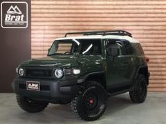 FJクルーザー4WD リフトアップ フェデラルA/T5本 各所黒塗装