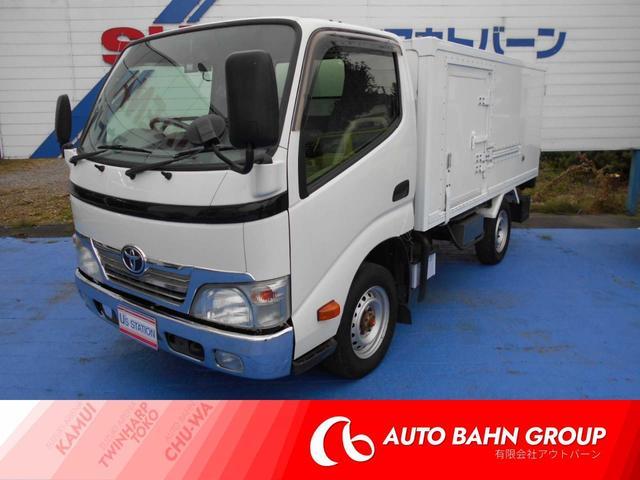 トヨタ トヨエース 冷凍冷蔵車 4WD バックモニター ETC -7°〜35°
