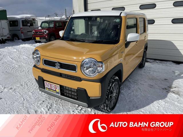 スズキ HYBRID G 4WD ポリマー・塩害施工済 夏冬タイヤ