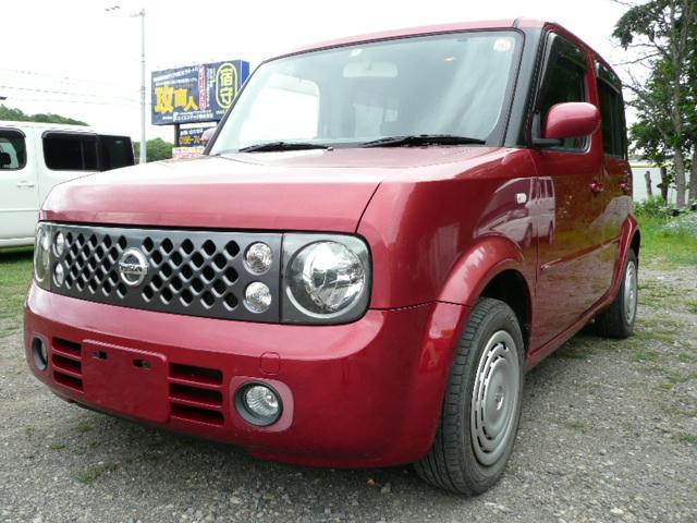 日産 14S AT 切替式4WD 社外ナビ・バックモニター