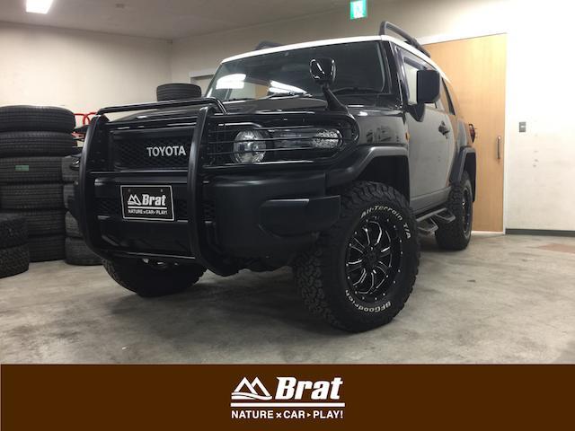 トヨタ ブラックカラーパッケージ リフトUP 新品タイヤAW