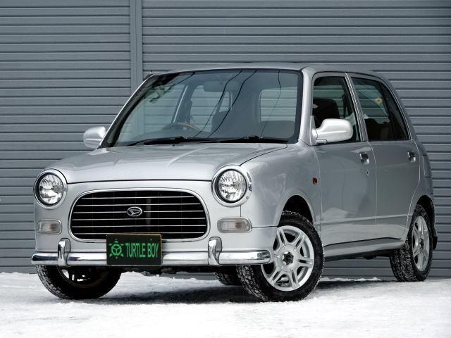 ダイハツ ジーノ5ドア660 4WD オートマ 寒冷地仕様 夏冬タイヤ