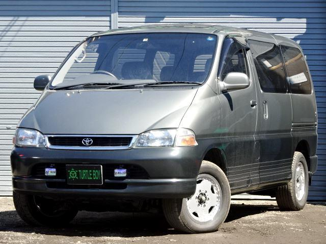 トヨタ 4ドア3.0ディーゼルターボ Q 4WD 寒冷地仕様 SR
