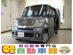 N BOXカスタムG ナビ ABS アイドルストップ スマキー HID 4WD