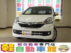 ミライースGf SA ナビ TV ABS Eアイドル スマキー 4WD