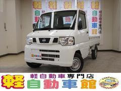 NT100クリッパートラックSD エアコン・パワステ付 MT車 4WD