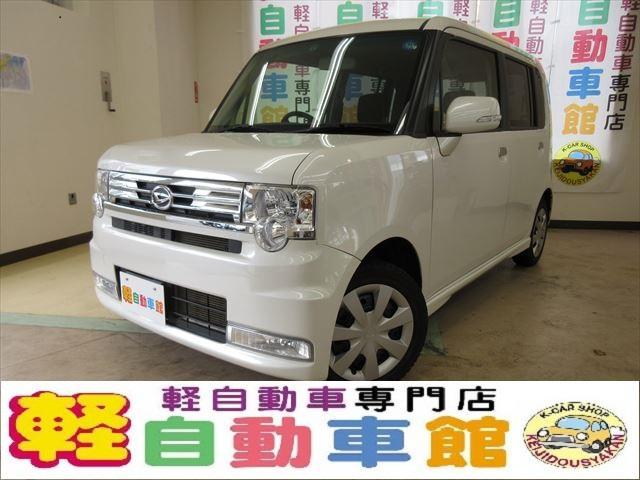 ダイハツ カスタム X ABS エコアイドル スマキー HID 4WD