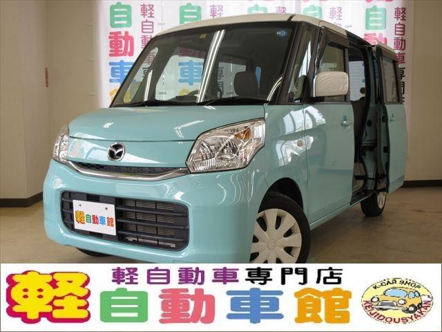 マツダ XS ナビ・TV 両側パワスラドア スマキー HID 4WD