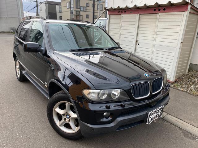 BMW X5 3.0i4WD キーレス ブラックレザーシート パワーシート 3.0i(5名)